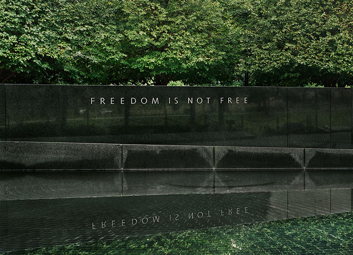 """Freedom is Not Free,"" Korean War Veterans Memorial, 2008-12, Detail."