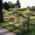 Order Beds and Rose Pergola (royal kitchen garden), Kew, 2007, chromogenic print, 44 x 59 cm.