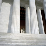 Lincoln Memorial, 2008-12, 94.2 x 121.1 cm.