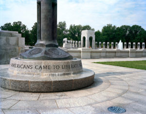 """Americans Came to Liberate,"" World War II Memorial, 2008-12, 76.2 x 96.5 cm."