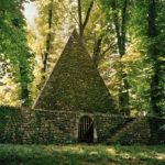 The Pyramid/Ice House, Le Désert de Retz, 2004, chromogenic print, 30 x 40 in.