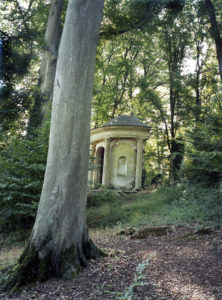 The Temple of Pan, Le Désert de Retz, 2005, chromogenic print, 30 x 24 in.