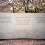 Explanatory Panel, National Japanese American Memorial to Patriotism During World War II, 2009, 45.7 x 60.9 cm.