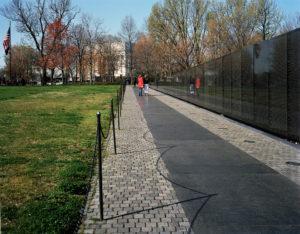 The Vietnam Veterans Memorial, 2008-12, 45.7 x 58.42 cm