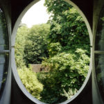 View from the Column #1, Le Désert de Retz, 2004, chromogenic print, 40 x 30 in.