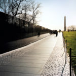 The Vietnam Veterans Memorial, 2008-12, 45.7 x 61.7 cm.