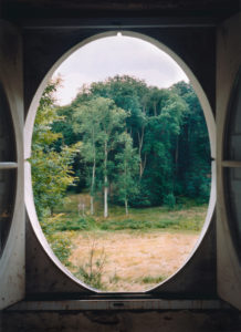 View from the Column #3, Le Désert de Retz, 2004, chromogenic print, 40 x 30 in.