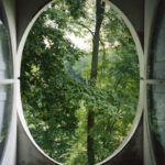 View from the Column #4, Le Désert de Retz, 2004, chromogenic print, 40 x 30 in.