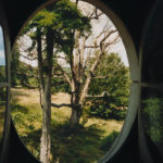 View from the Column #5, Le Désert de Retz, 2004, chromogenic print, 40 x 30 in.