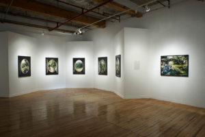 Installation view, WARC Gallery, Toronto, 2006.