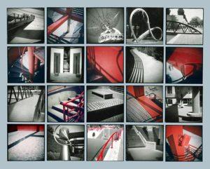 Parc de la Villette, 1999, 20 gelatin silver & chromogenic prints, 68 in. x 84 in.