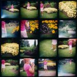 Dancer (Niagara), 2002, 16 colour prints, 30 in. x 30 in., each 7 in. x 7 in.