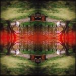 Kaleidoscape # 5, 1995-96, four chromogenic prints mounted on board, overall 48 in. x 48 in.